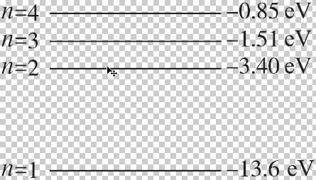 氢原子光谱 玻尔的原子模型测试题
