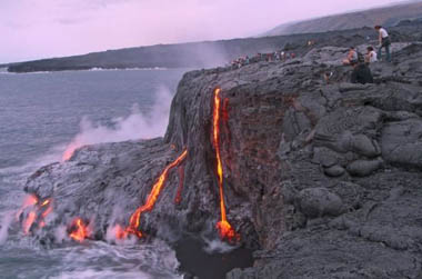 基劳维亚火山是夏威夷群岛上的一座活火山,是组成夏威夷岛的5