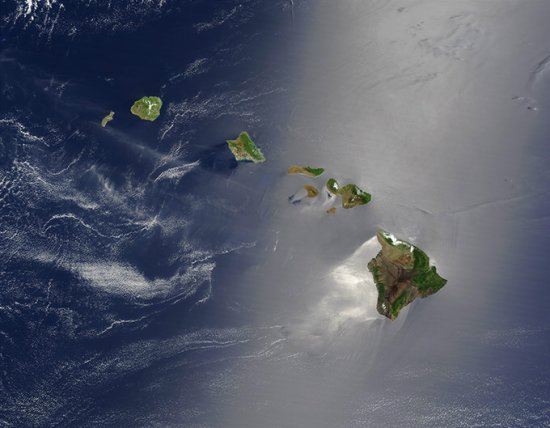 太平洋的夏威夷群岛