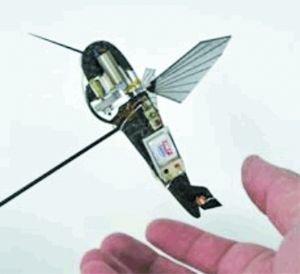 航空环境公司此次研制蜂鸟飞机