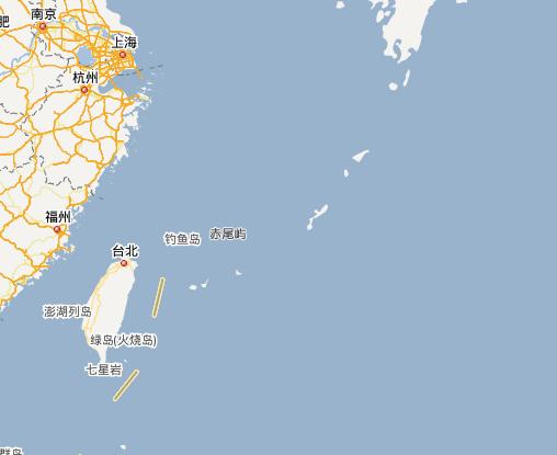 钓鱼岛地理位置分析