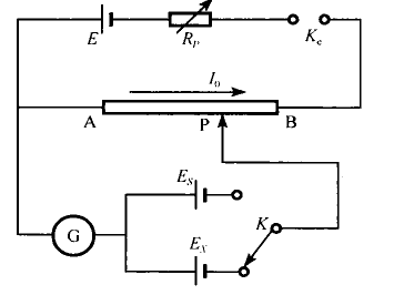 实验:用箱式电势差计测试电势差
