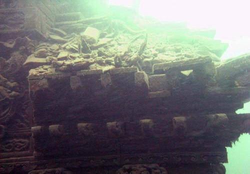 深藏在千岛湖下面的千年古城[图]