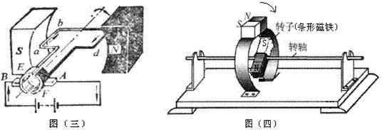 直流电动机转动原理的另类教法