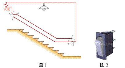 楼梯照明灯的简易设计