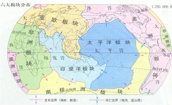 地球六大板块 - shufubisheng - 修心练身的博客
