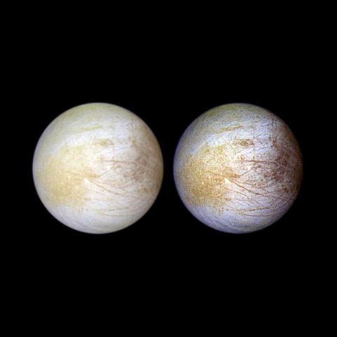 在木星的卫星——欧罗巴