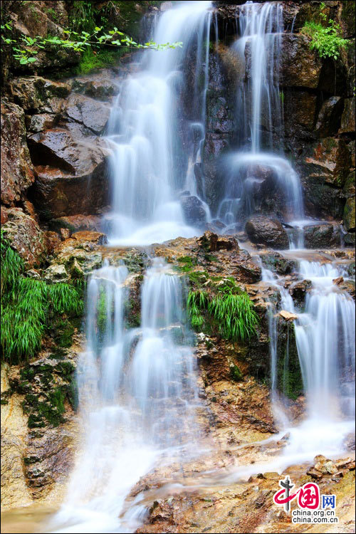 壁纸 风景 旅游 瀑布 山水 桌面 500_750 竖版 竖屏 手机