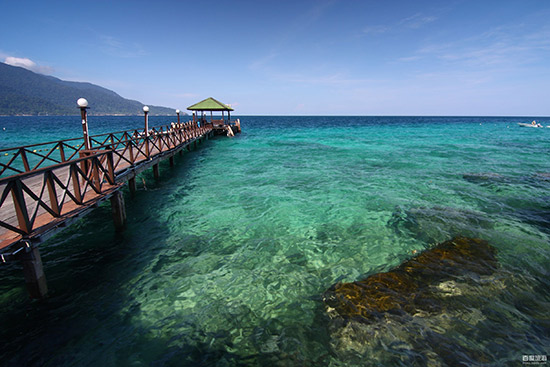 马来西亚刁曼岛 泡吧看海天对话