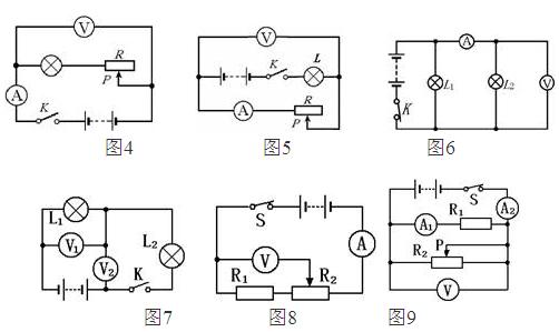 图5分析:小灯泡与变阻器串联