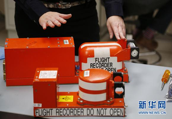 """飞行数据记录器和舱声录音器,如果能顺利找到马航失联客机的""""黑匣子"""""""