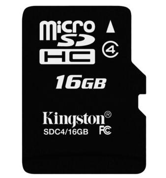 金士顿Kingston16GB Class4 TFMicro SD存储卡