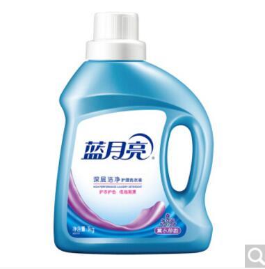 蓝月亮 深层洁净洗衣液薰衣草1kg瓶 新老包装随机发货(含2瓶共2kg)