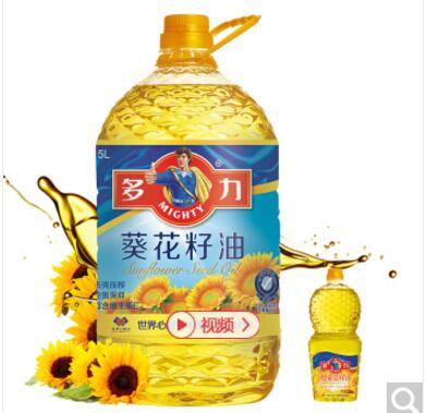 多力葵花籽油5L赠品及品项随机发放