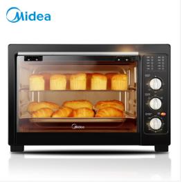 美的(Midea)MG38CB-AA 家用多功能电烤箱 38升大容量烤箱 广域控温