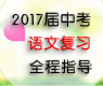 2017届中考语文复习全程指导
